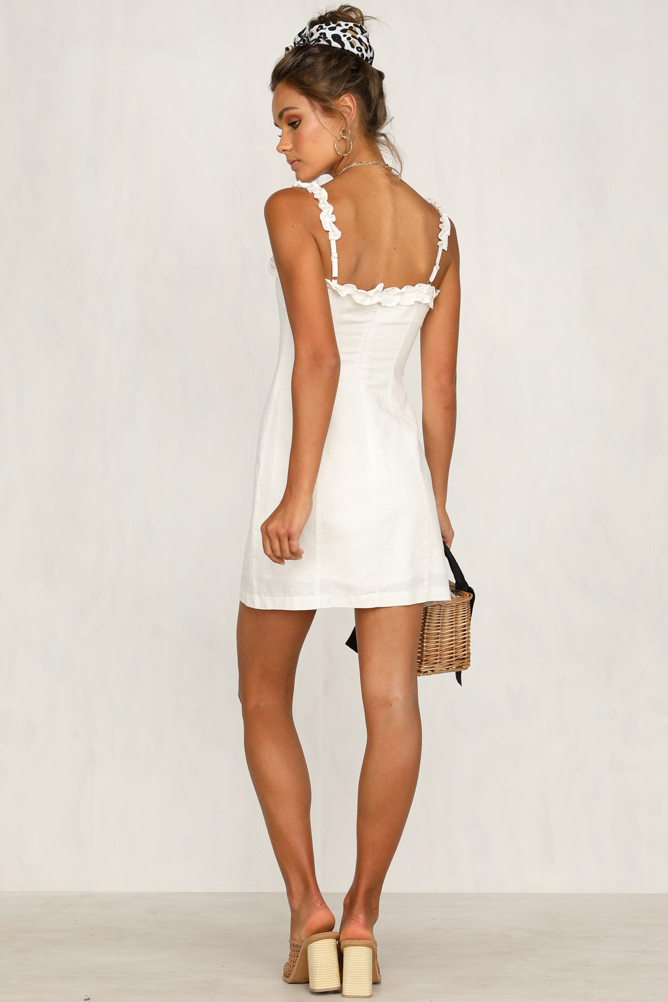 Give A Little Love Dress (White)