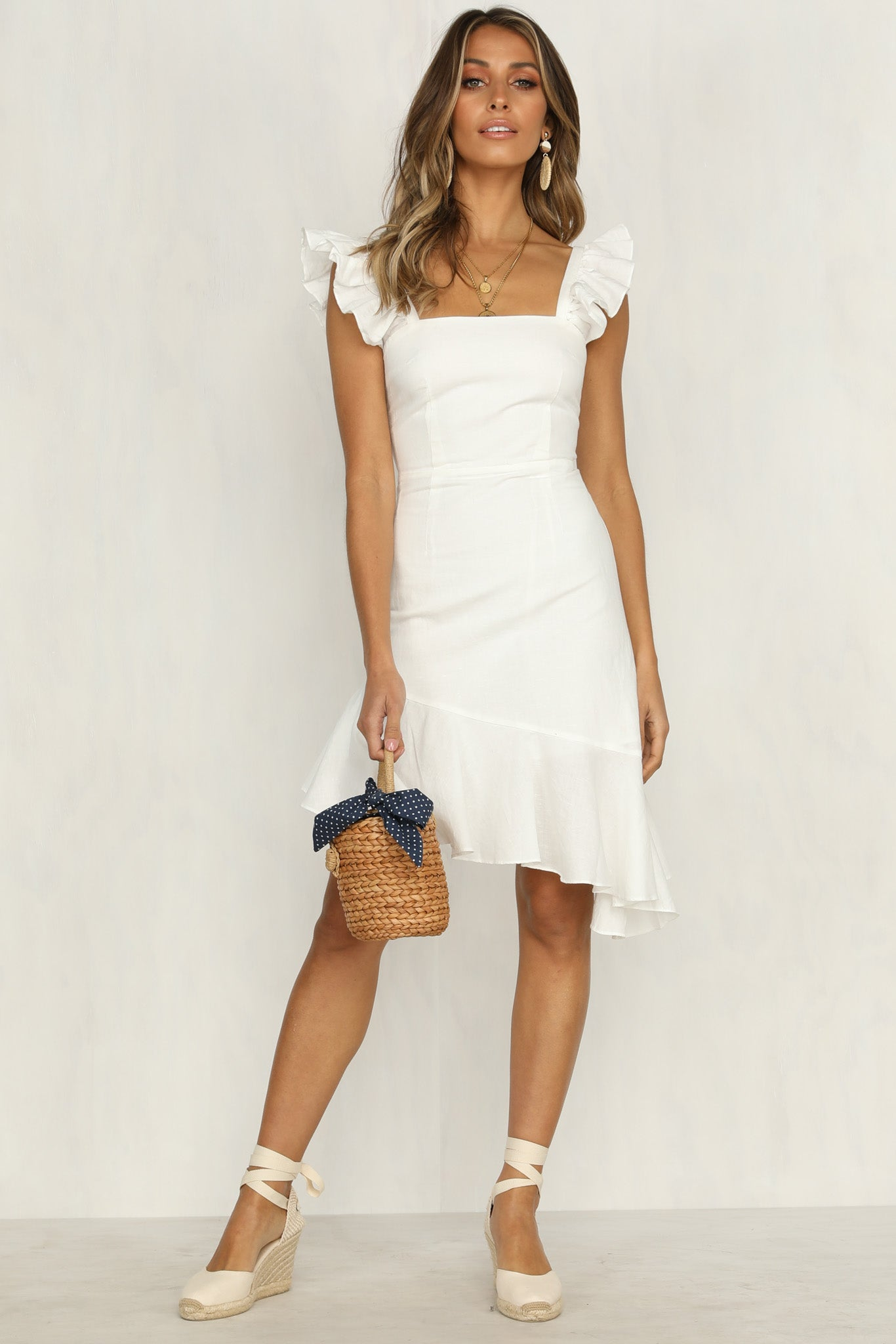 Rosalie Dress (White)