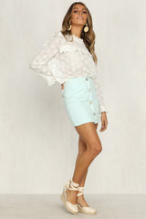Future Fire Skirt (Mint)