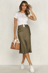 Evolution Skirt (Khaki)