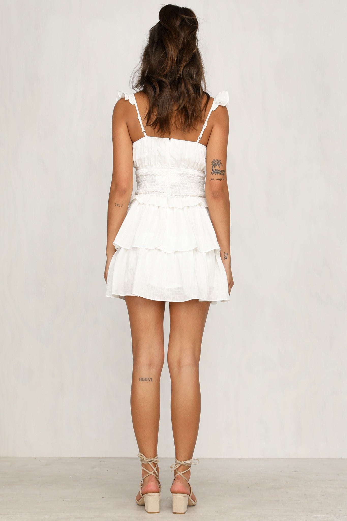 Bea Dress (White)