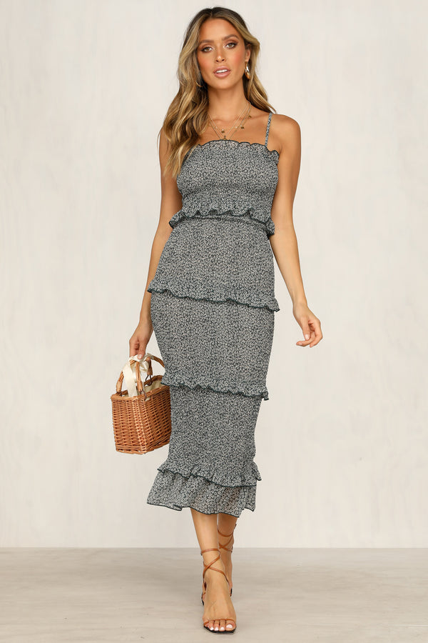 Endless Summer Dress (Teal)