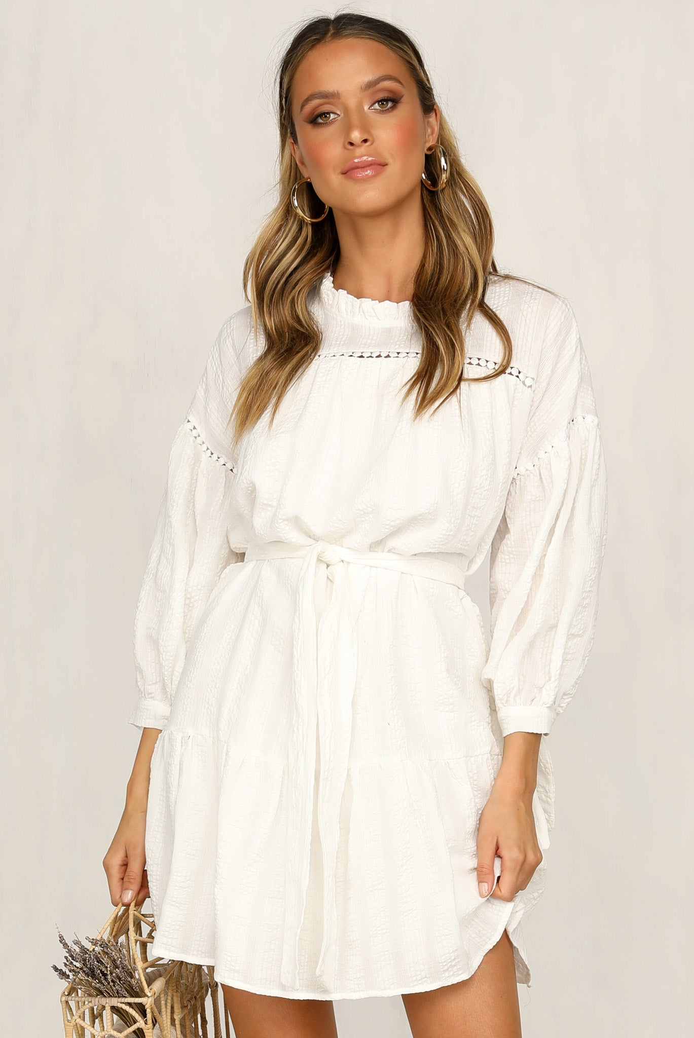 Just Like Me Dress (White)
