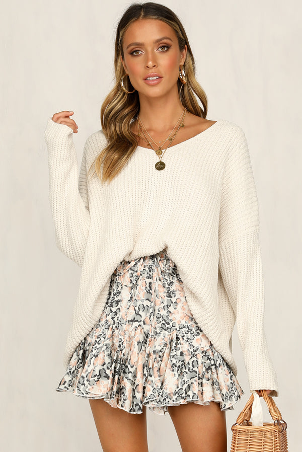 Lacey Knit Sweater