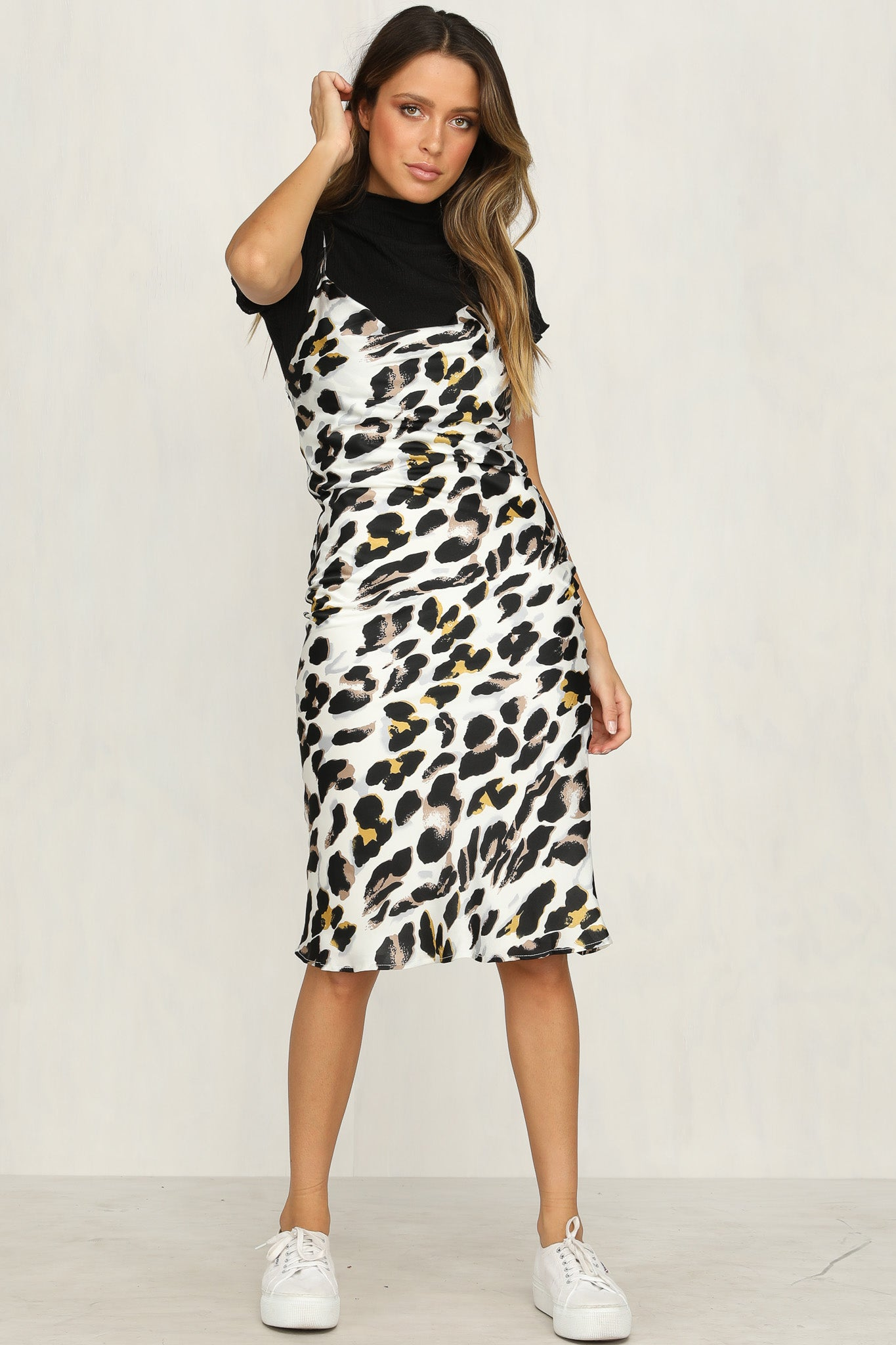 Linley Dress (Leopard)