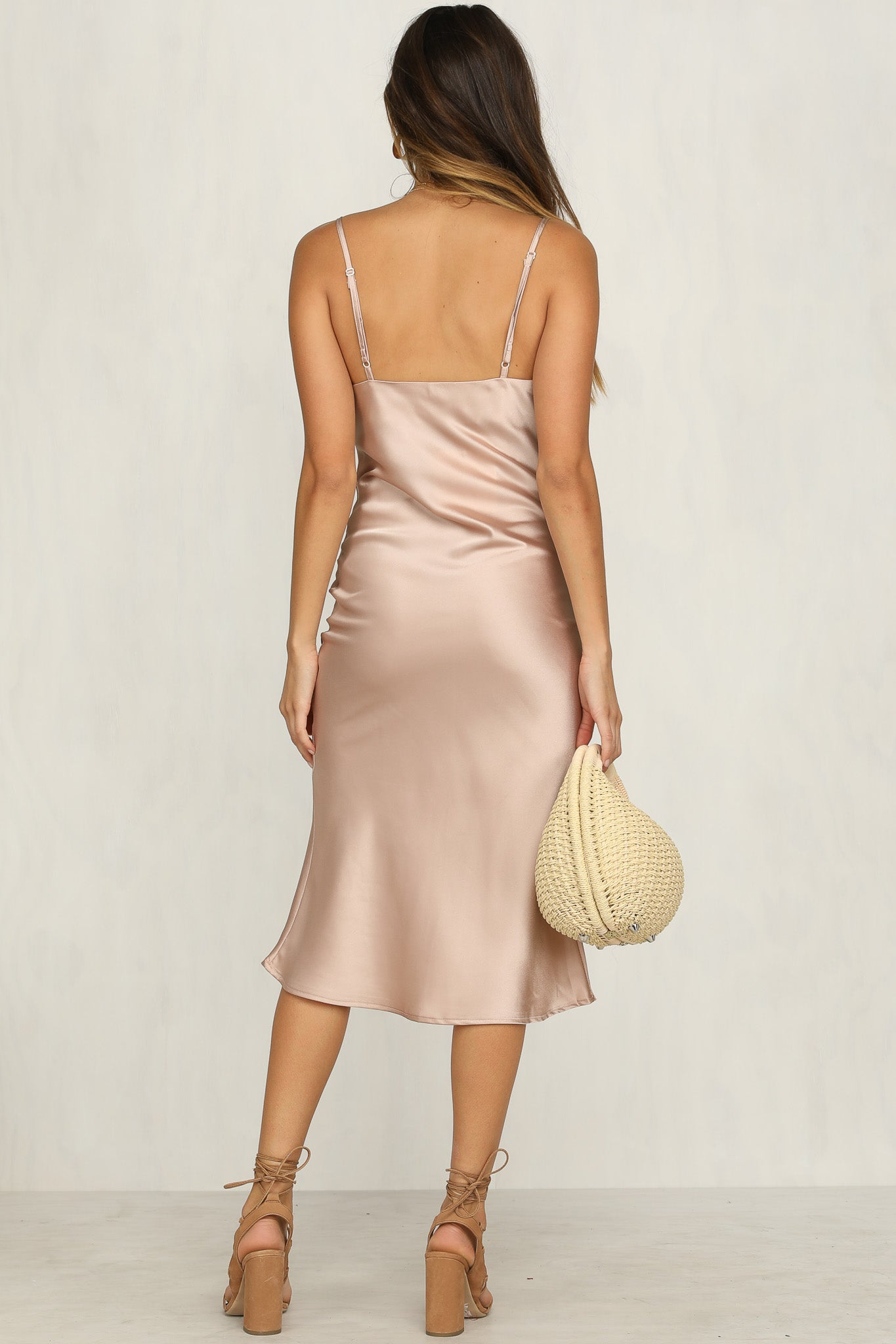 Linley Dress (Champagne)