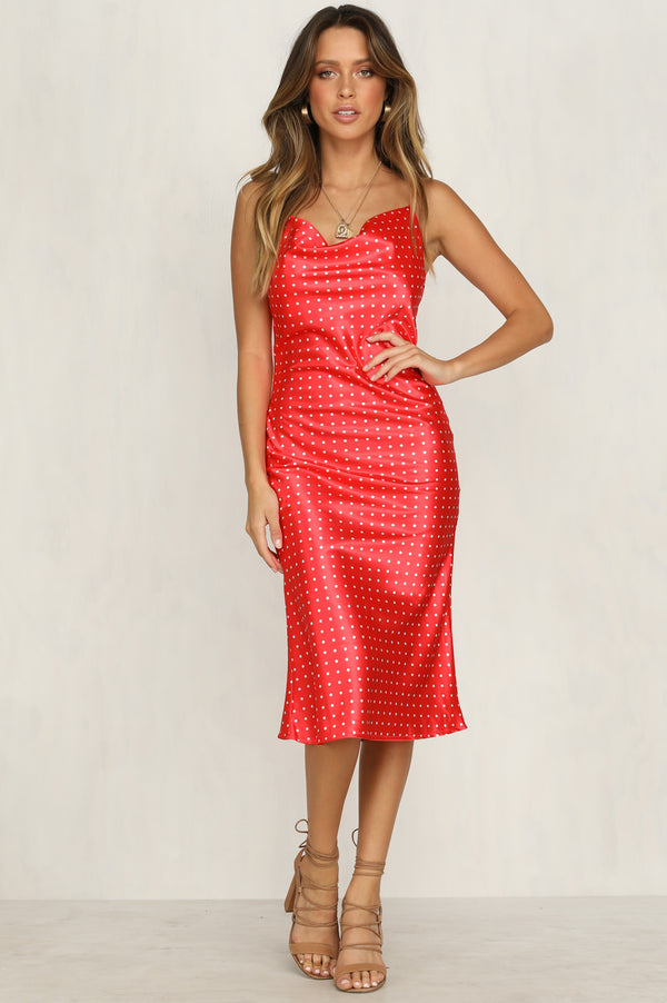 Linley Dress (Cherry)