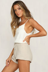 Laguna Knit Shorts (Gold)