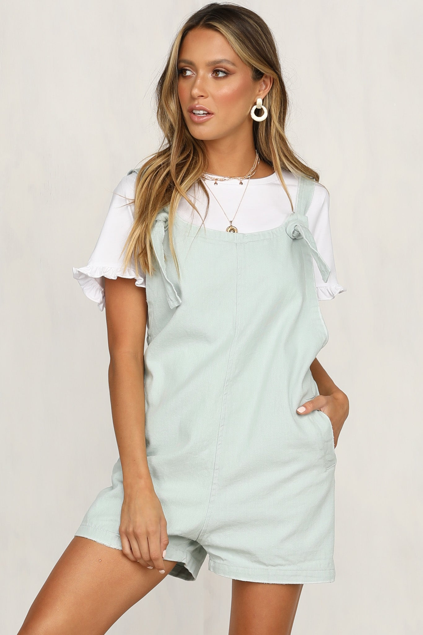 Venus Rising Playsuit (Mint)