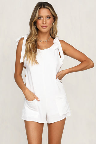 San Vito Playsuit (White)