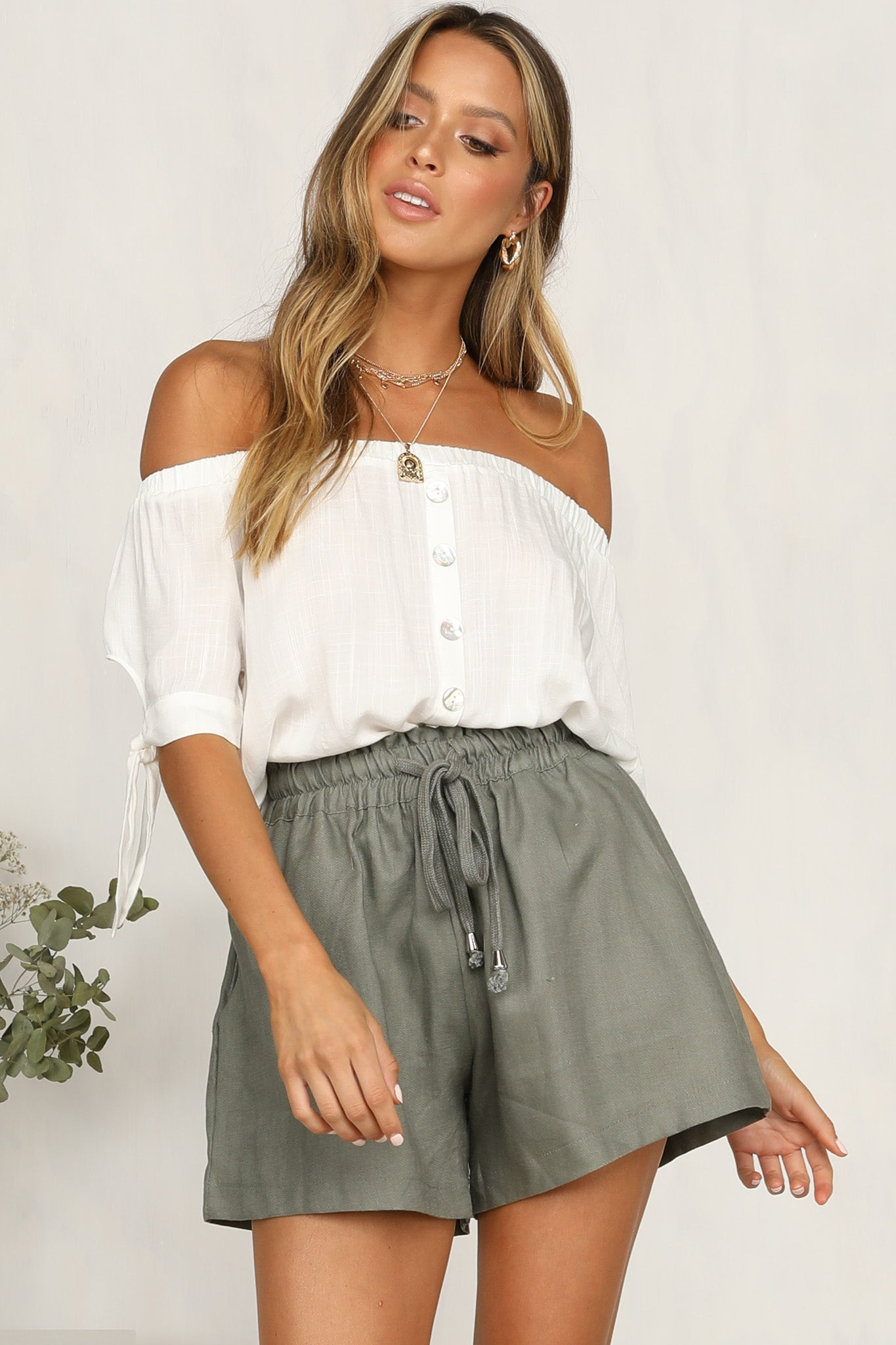 Easy Love Top (White)