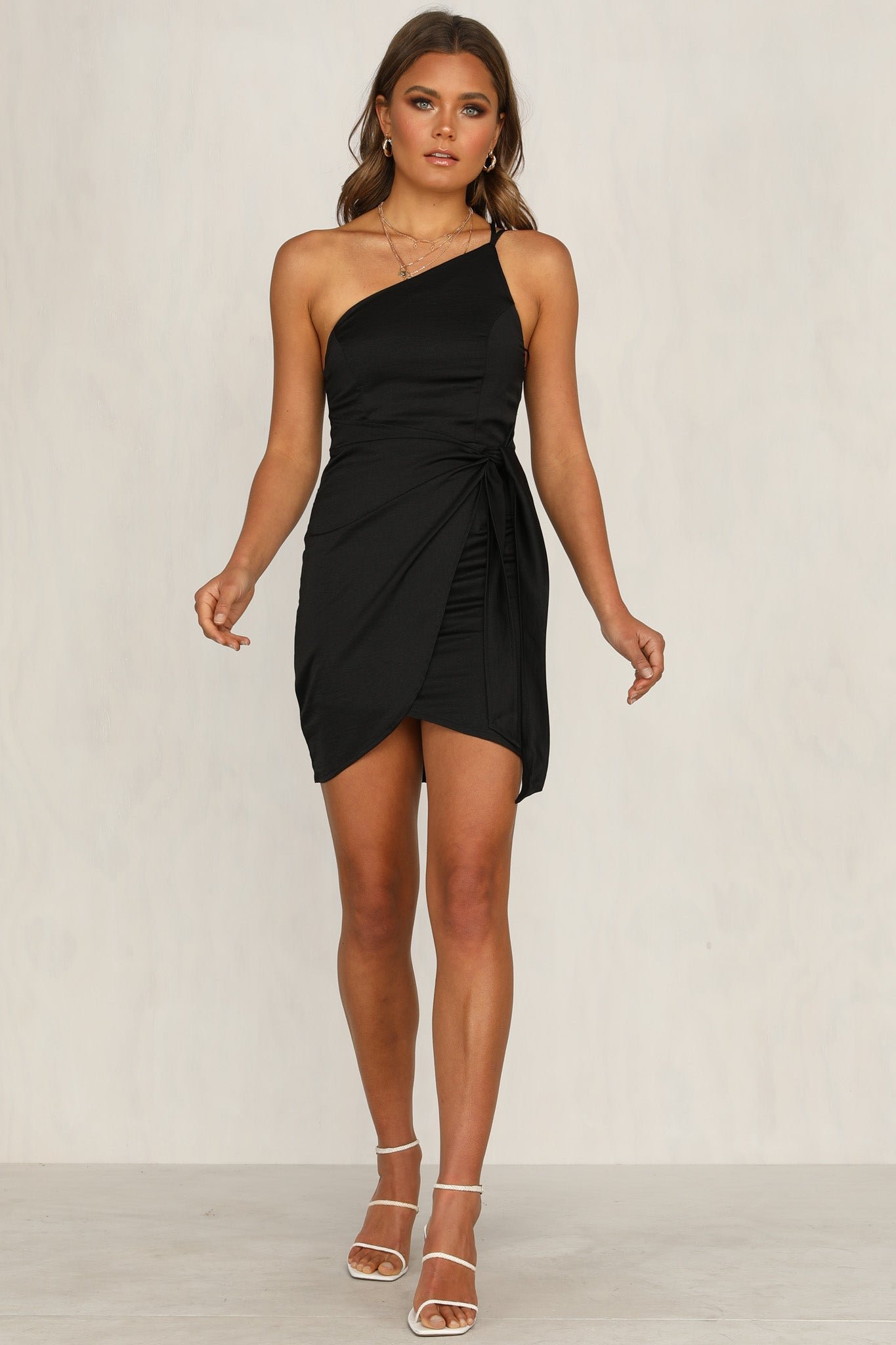 Make You Miss Me Dress (Black)