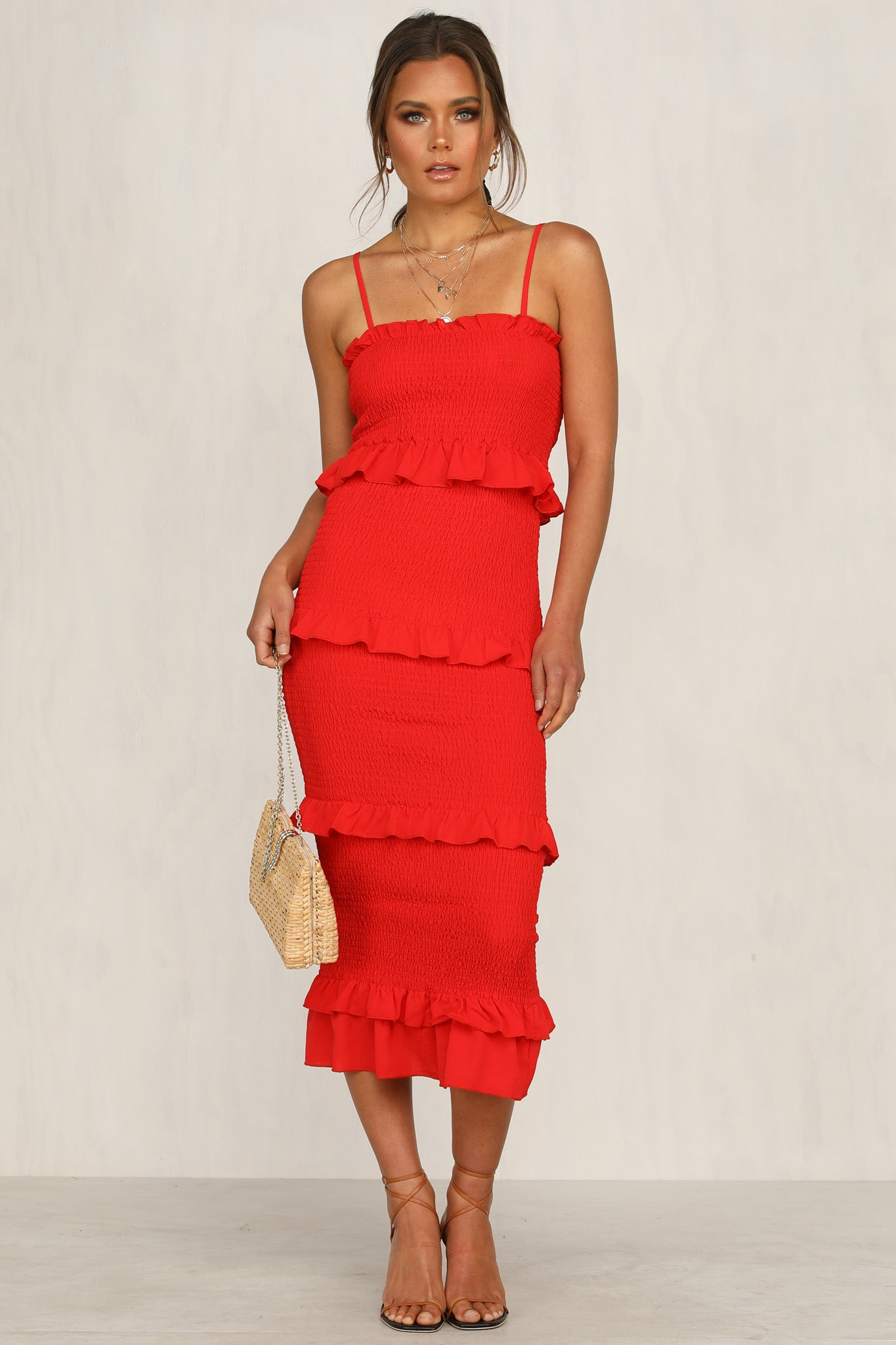 Endless Summer Dress (Red)