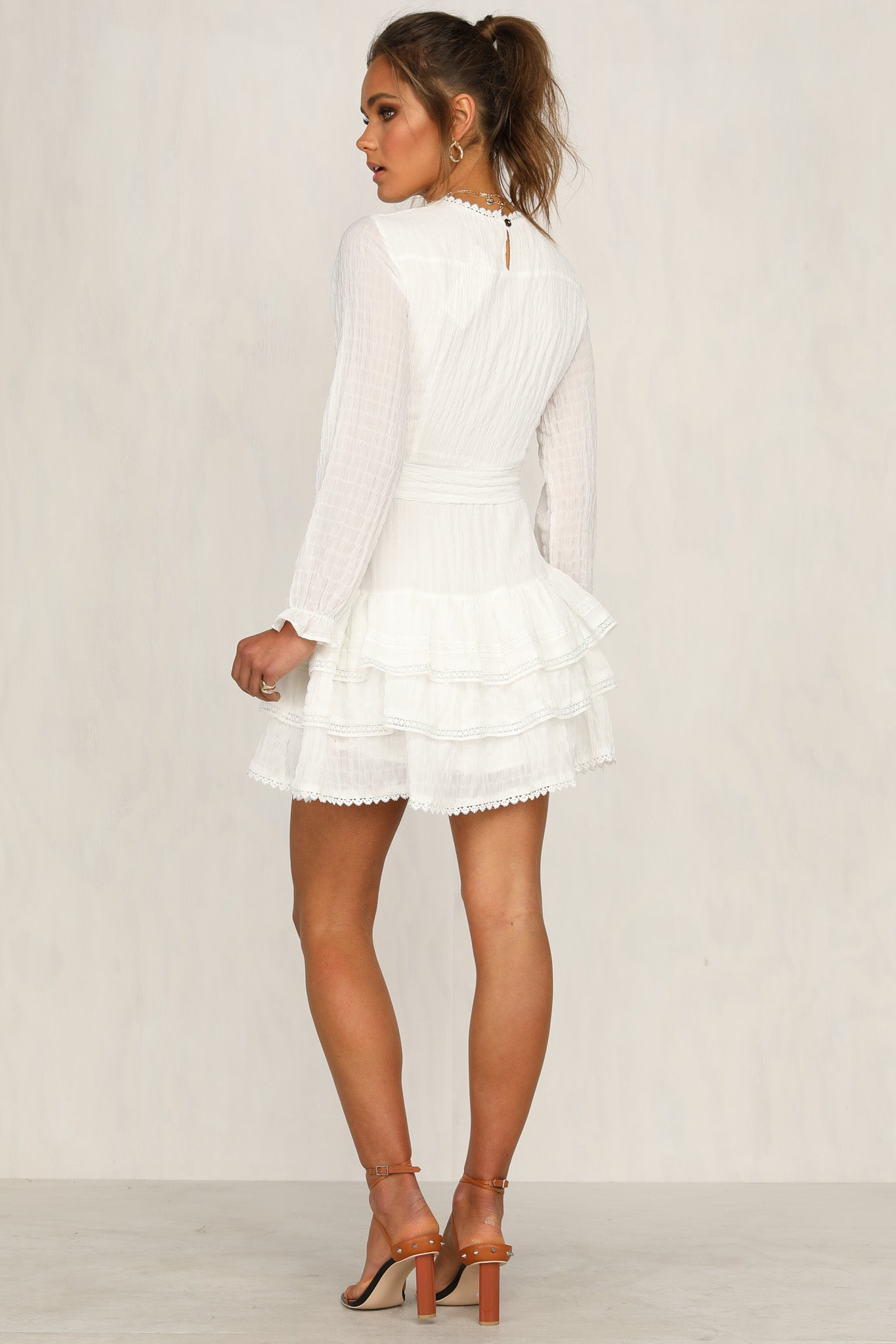 Breaking Hearts Dress (White)
