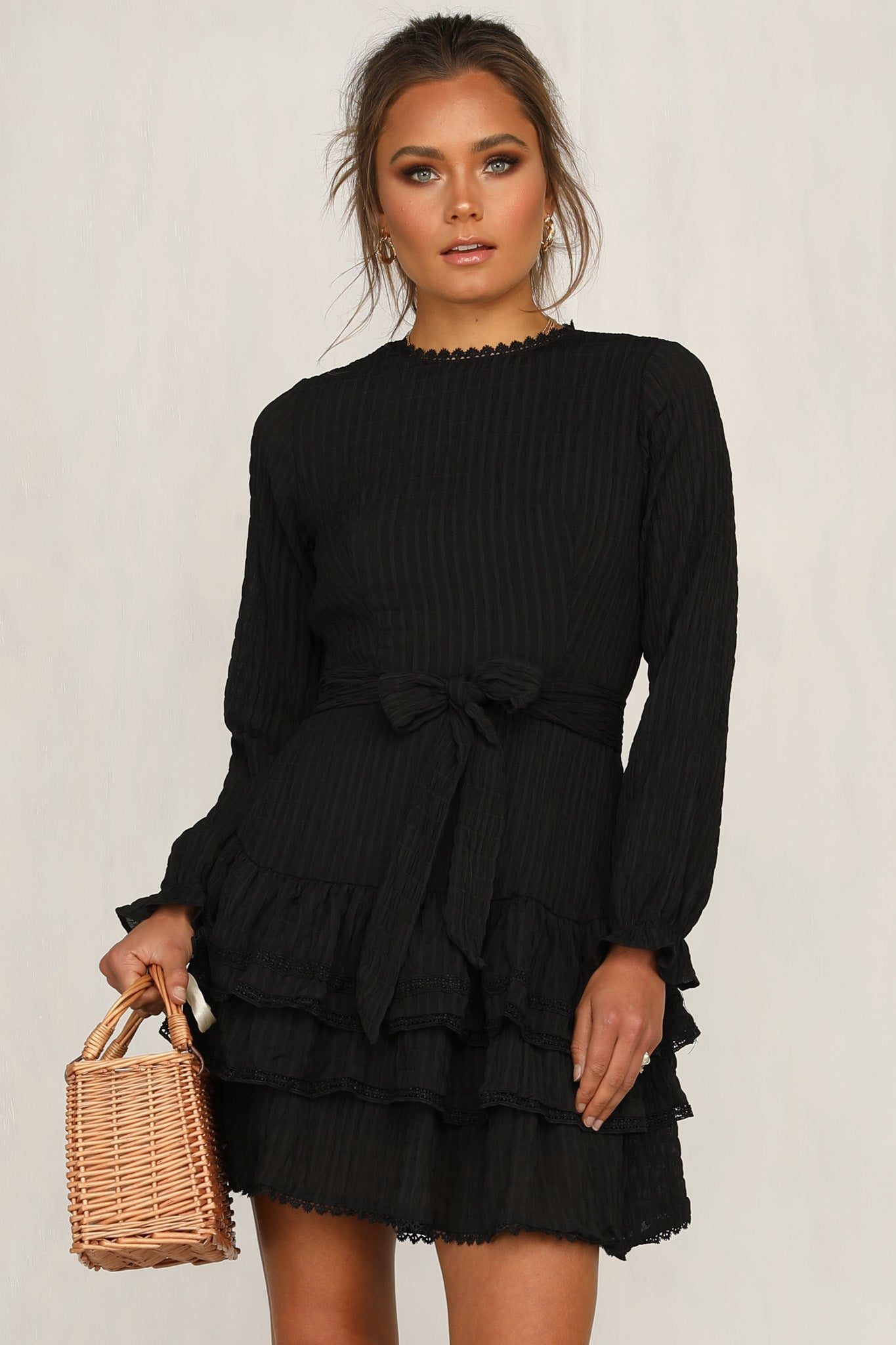 Breaking Hearts Dress (Black)