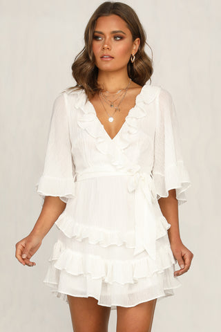Romilly Dress (White)
