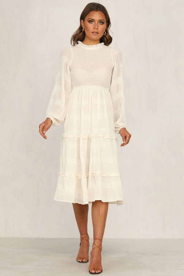 On A Cloud Dress (Cream)