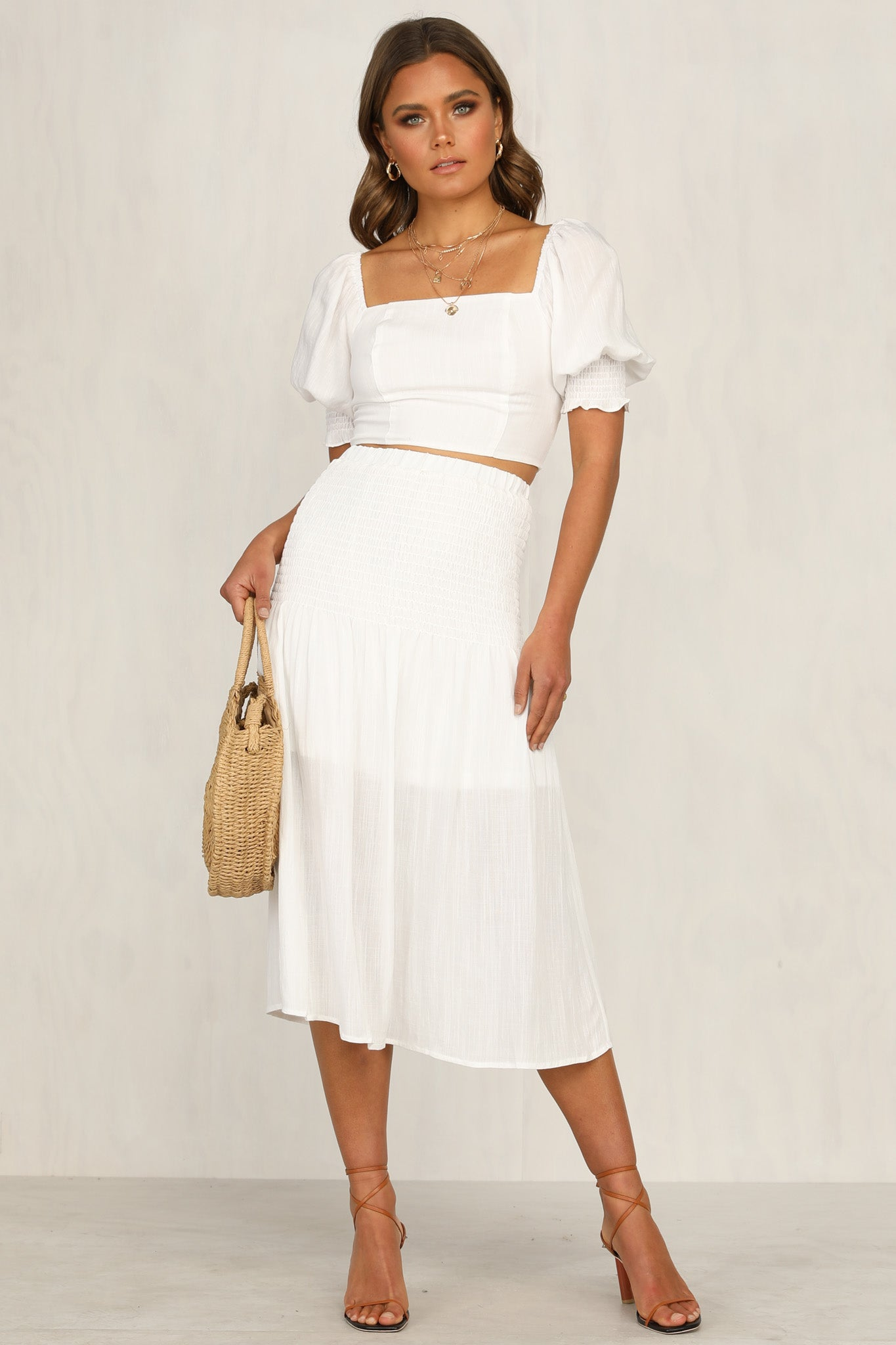 Mireille Skirt (White)