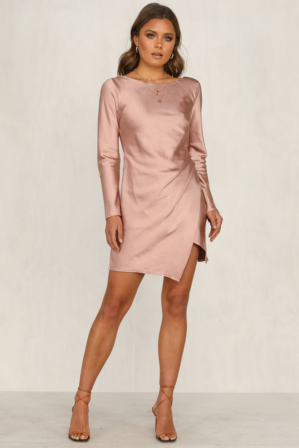 Exhibitionist Dress (Blush)