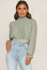 Higher Love Top (Mint)