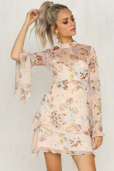 Radiate Dress (Light Pink)
