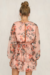 All Mine Dress (Pink Floral)