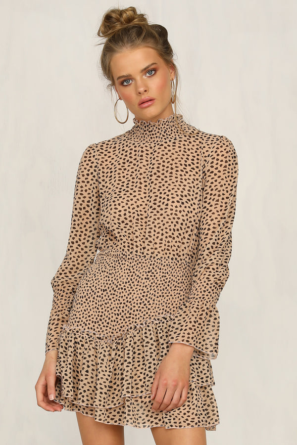 In The Know Dress (Leopard)