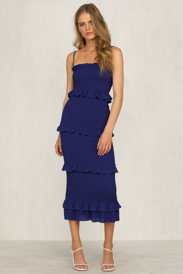 Endless Summer Dress (Cobalt)