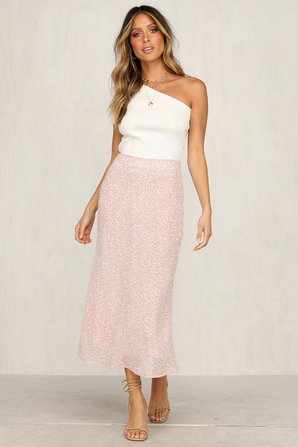 Bleeding Love Skirt (Pink)