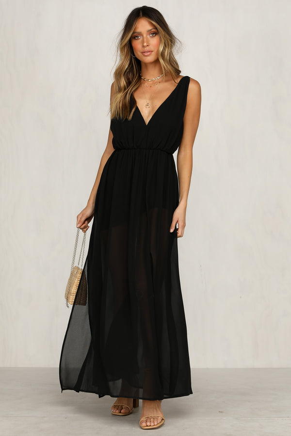 Low Lights Dress (Black)