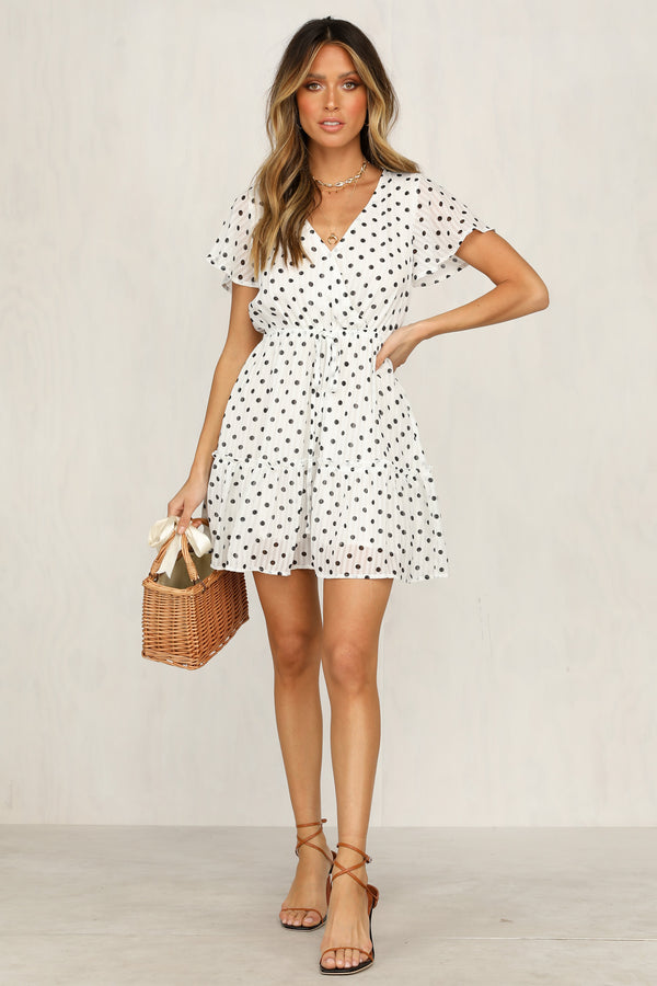 Jocelyn Dress (White)