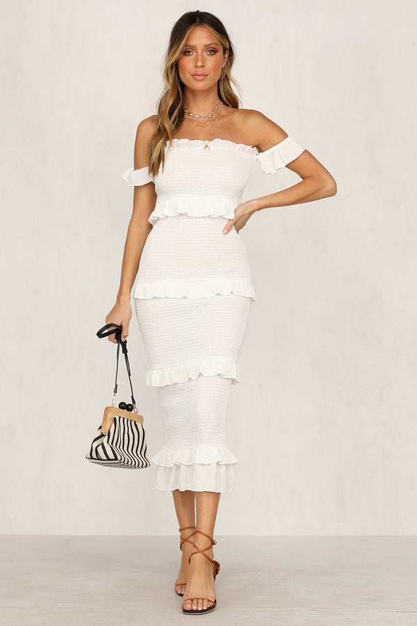 True Essence Dress (White)
