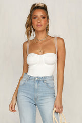 Art House Bodysuit (White)