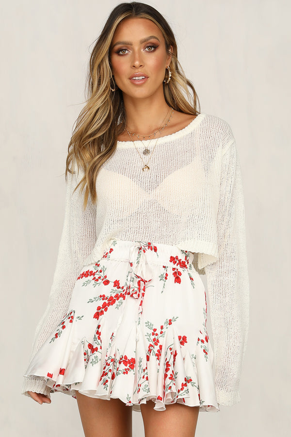 Rose Garden Girl Skirt
