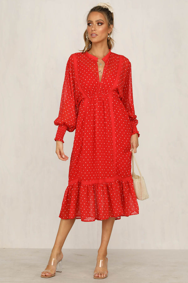 Coco Dress (Red)