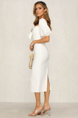 Isidora Dress (White)