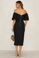 Isidora Dress (Black)
