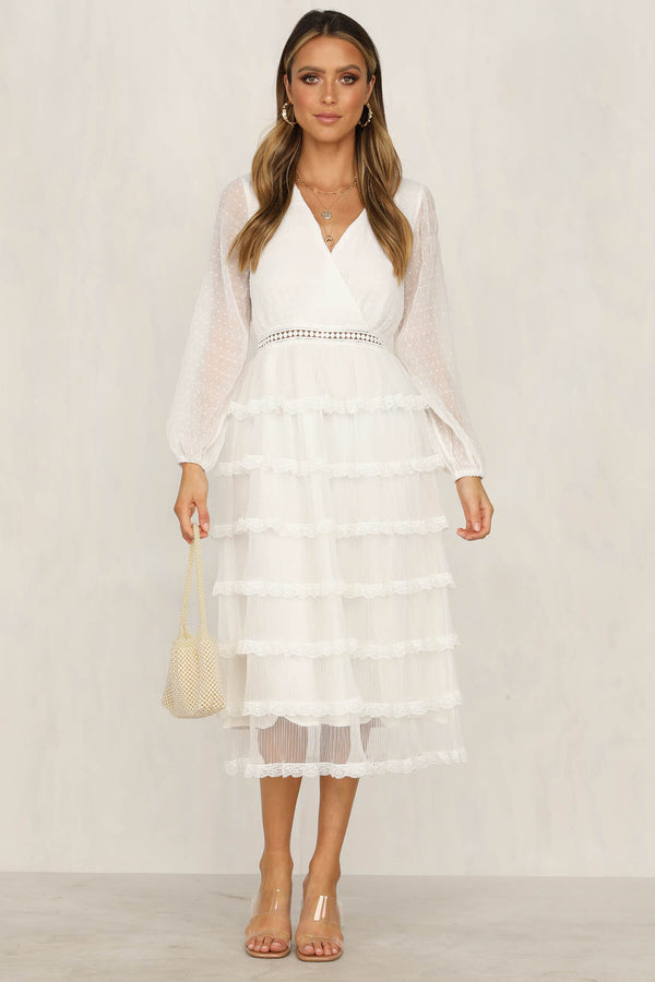 Bright Future Dress (White)
