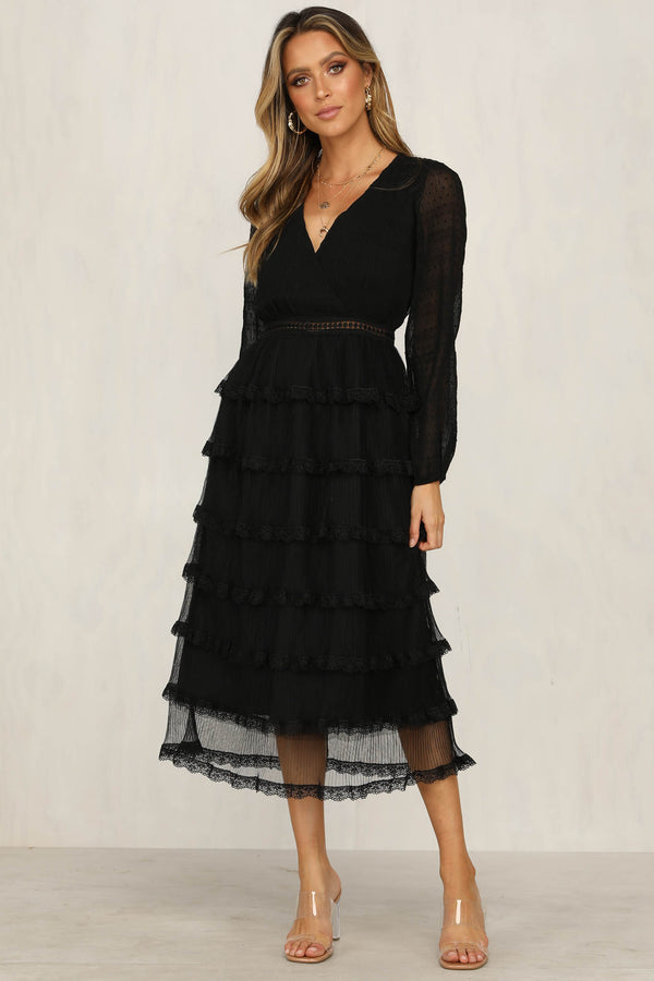 Bright Future Dress (Black)