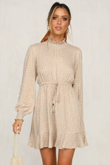 Take It Easy Dress (Beige)