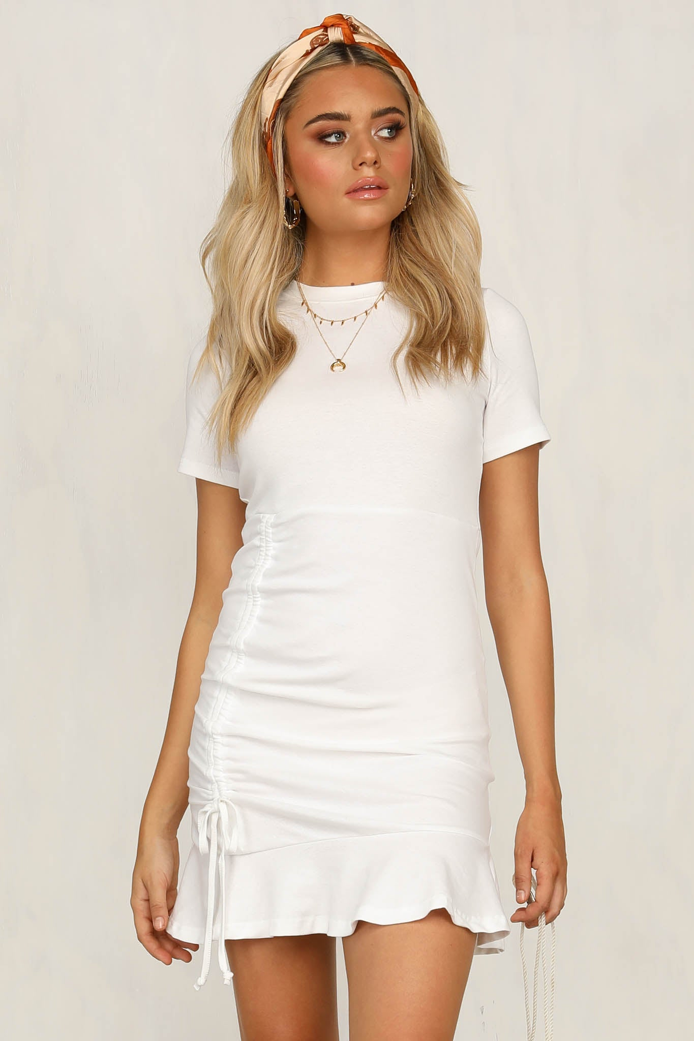 Get With It Dress (White)