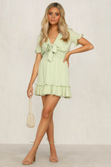 Unconditional Dress (Lime)