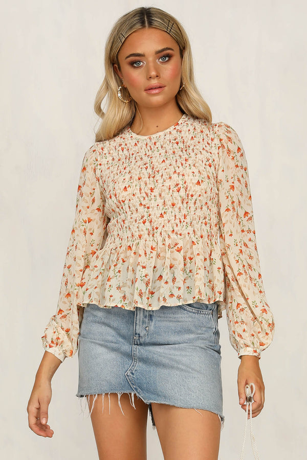 Baby I'm Yours Top (Peach)