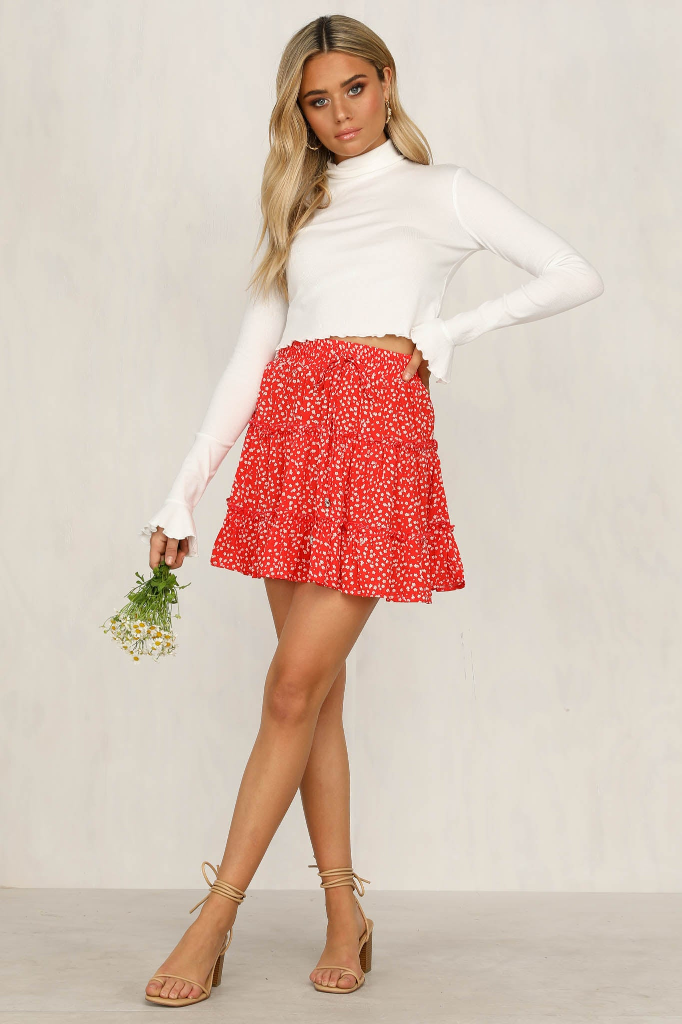 Told You So Skirt (Red)