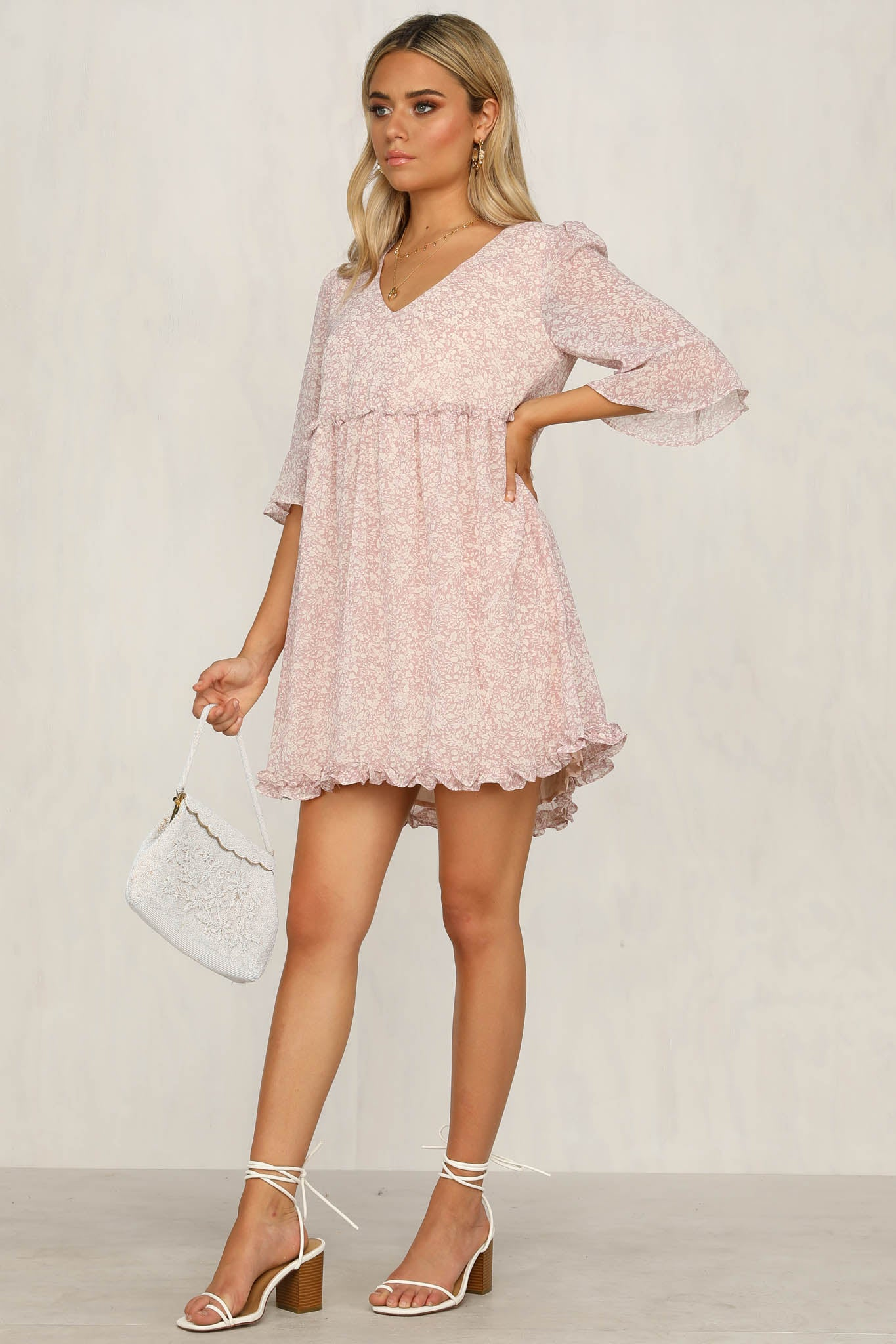 All At Once Dress (Pink)