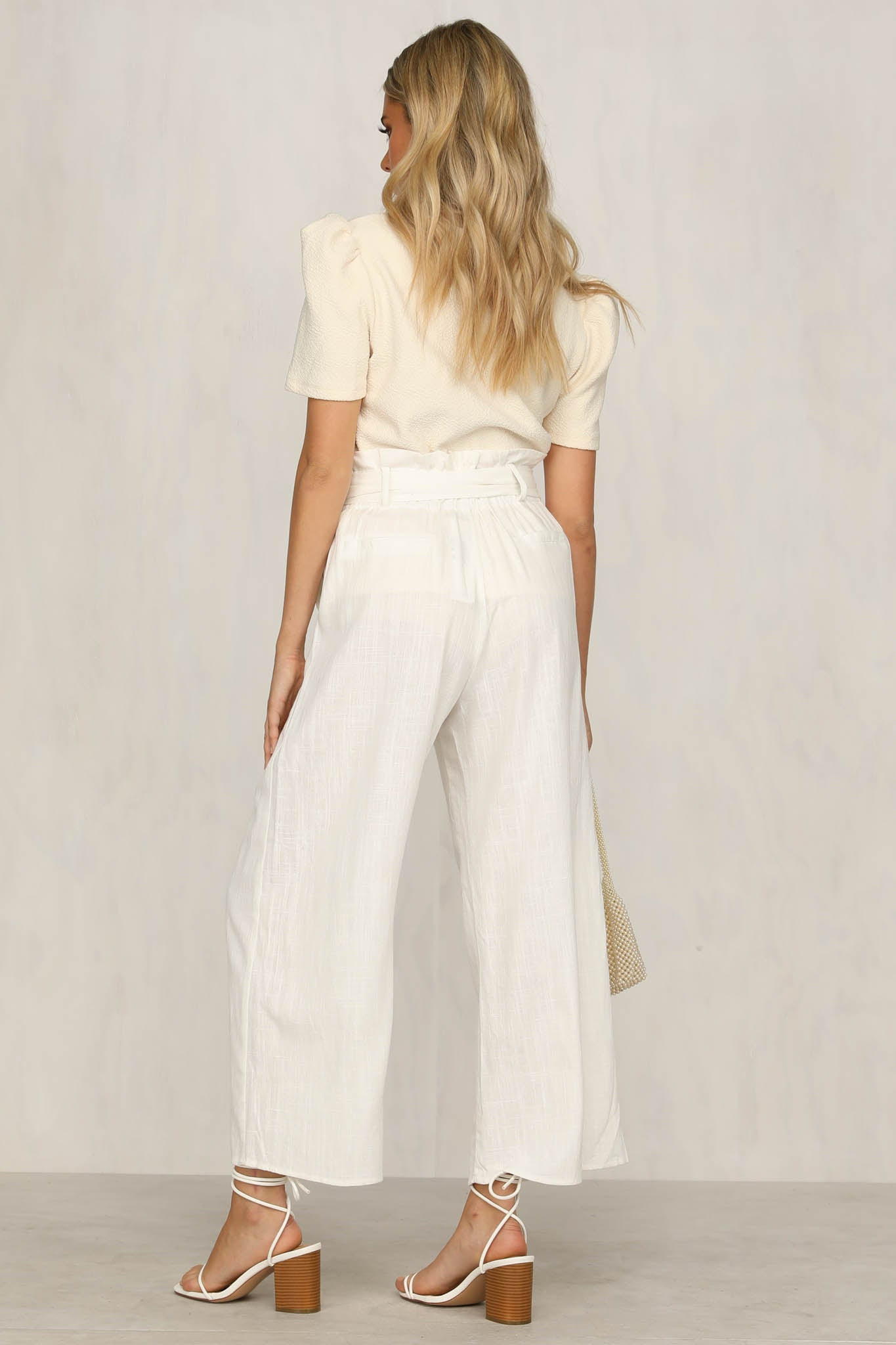 Front Line Pants (White)