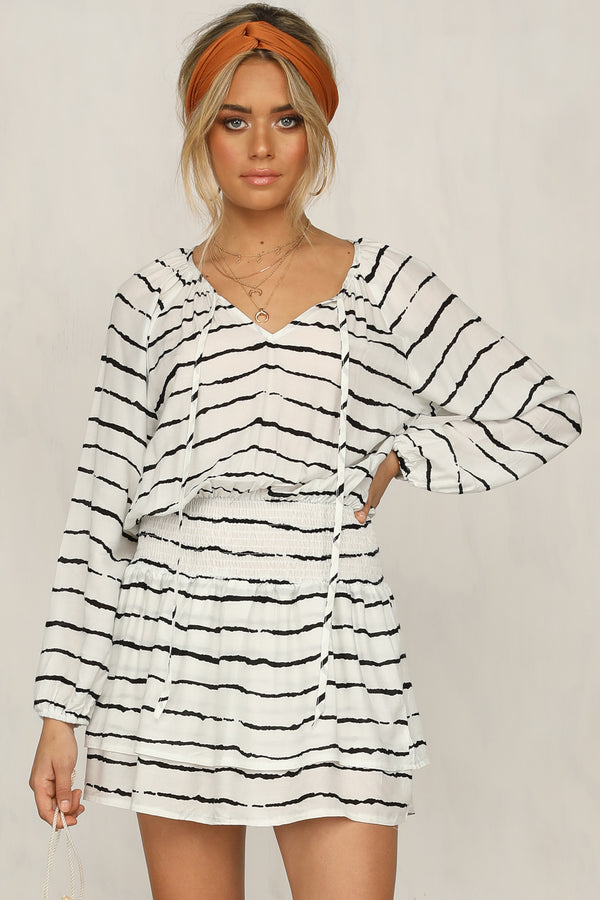 Bandit Dress (White)