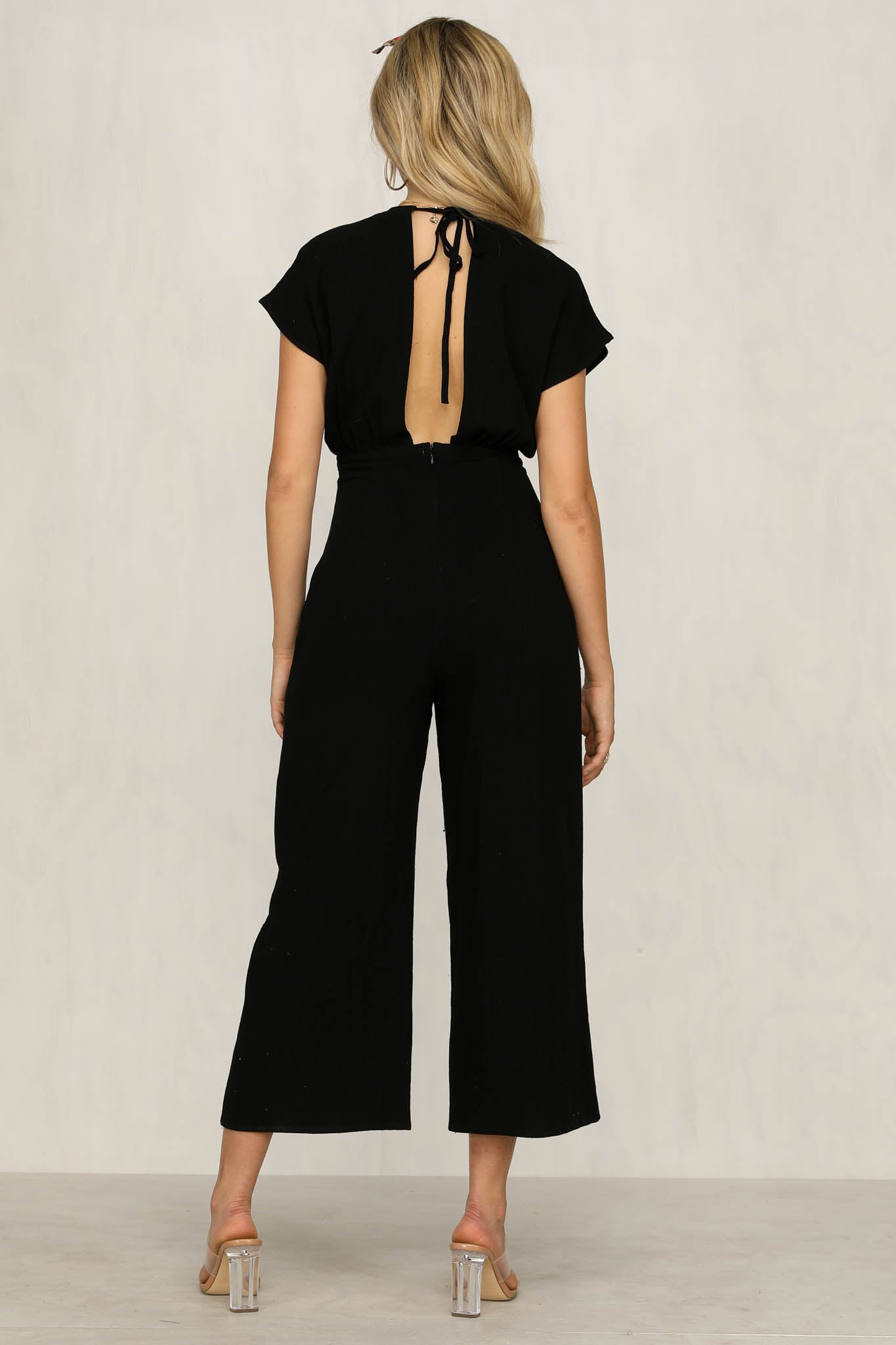 Untamed Jumpsuit (Black)