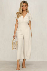 Untamed Jumpsuit (Natural)