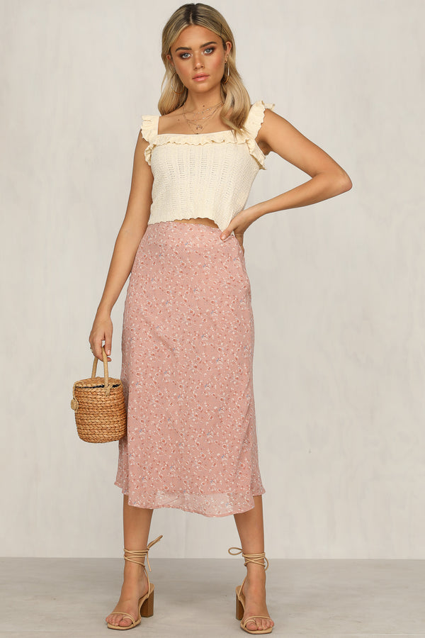 Sweet Escape Skirt (Floral)